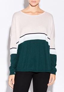 buy the latest Mist Stripe Knit  online