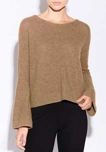 buy the latest Kira Bell Sleeve Knit - Cashmere Alpaca  online