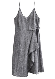 buy the latest Etched Wrap Dress online