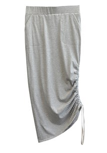 buy the latest Breton Drawcord Midi Skirt online