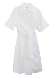 buy the latest Enfold Wrap Shirt Dress  online