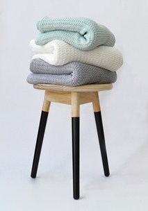 buy the latest Taper Knitted Throw online