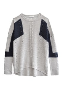 buy the latest Flute Colourblock Knit online