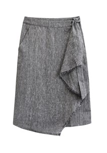 buy the latest Etched Wrap Skirt  online