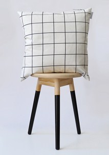 buy the latest Grid Cushion Cover online