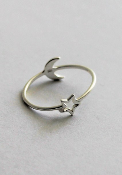 buy the latest Star And Moon Ring online