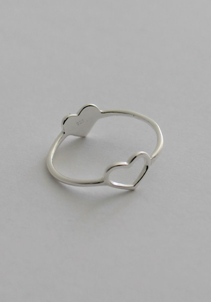 buy the latest Double Heart Ring online